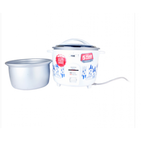 Preethi - RC-325 Wonder Glitter Double Pan Electric Rice Cooker 1.8 Litre 1 Unit, Box