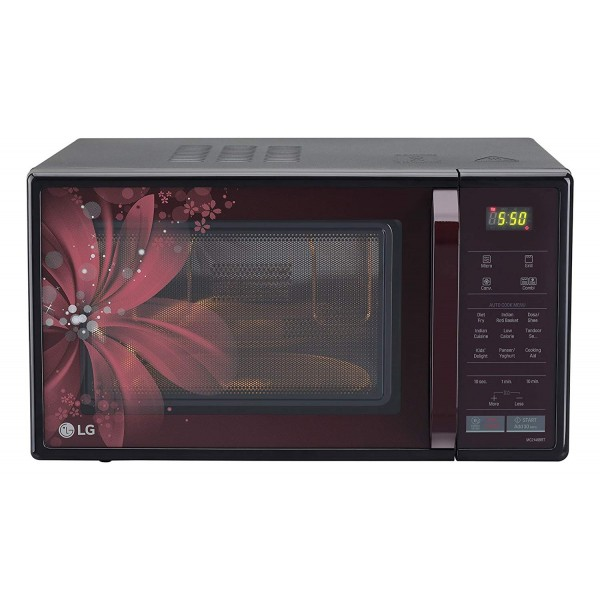 LG 21 L Convection Microwave Oven MC2146BRT