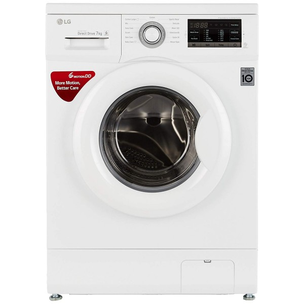 LG 7 kg Fully-Automatic Front Loading Washing Machine FH0G7QDNL02