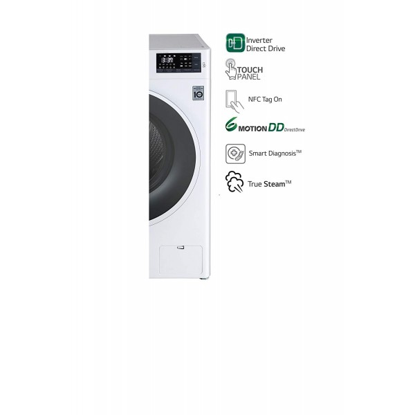 LG 6 kg Fully-Automatic Front Loading Washing Machine FHT1006SNW.ABWPEIL