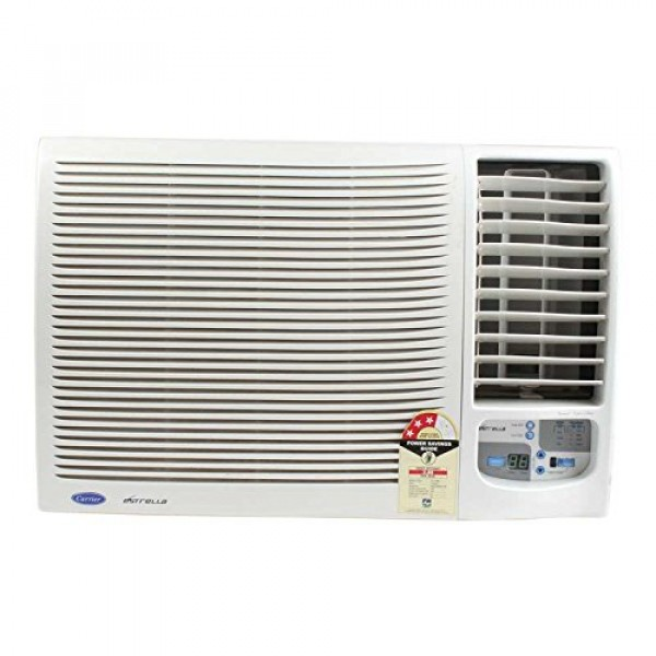 Carrier 1.5 Ton 3 Star Window AC - White  (ESTRELLA, Copper Condenser)