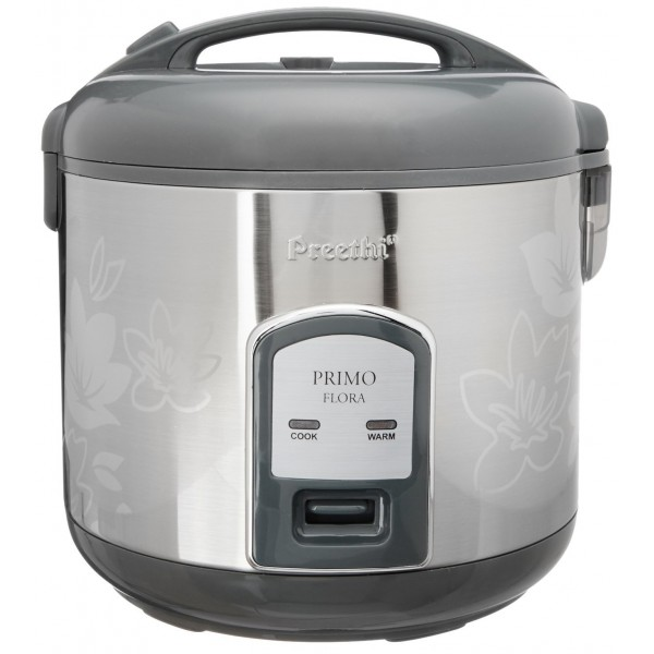Preethi Primo RC 311 P18 Flora 1.8-Litre 700-Watts Rice Cooker