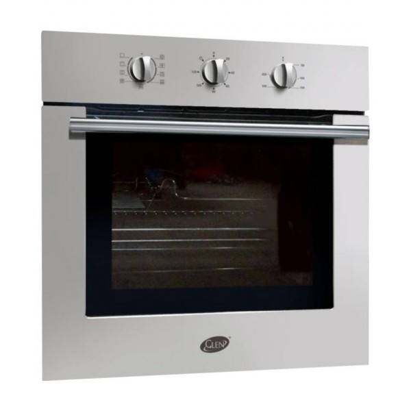 Glen Above 32 Litres LTR GL 660 MR Turbo Built-in Oven Silver