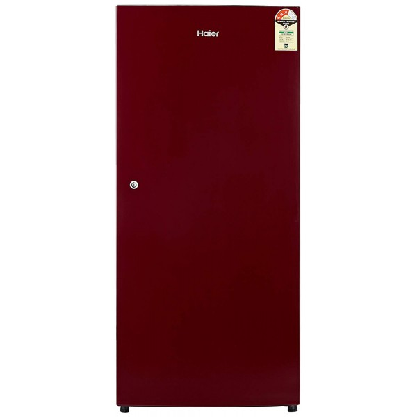 Haier 195 L 3 Star Direct Cool Single Door Refrigerator(HRD-1953SR-R/HRD-1953SR-E, Red)