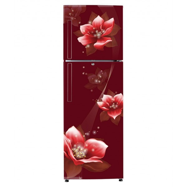 Haier 258 Ltr 3 Star HRF-2783CRM-E Double Door Refrigerator - Red