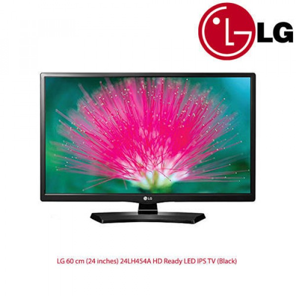 LG 60 Cm 24 Inches 24 LH 454 A HD Ready LED IPS TV Black, Screen Size: 24 Inches