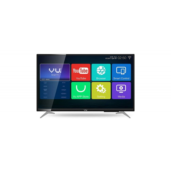 Vu 109 Cm (43) 4K Ultra Hd Led Smart Television 43Bu113 Tv With Built-In Wifi