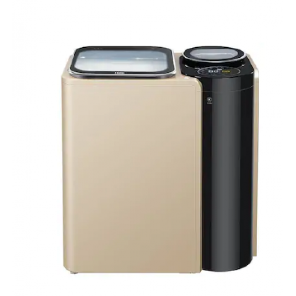 Haier 10 Kg Fully Automatic Top Load Washing Machine (HSW100-261NZP, Champagne Gold)