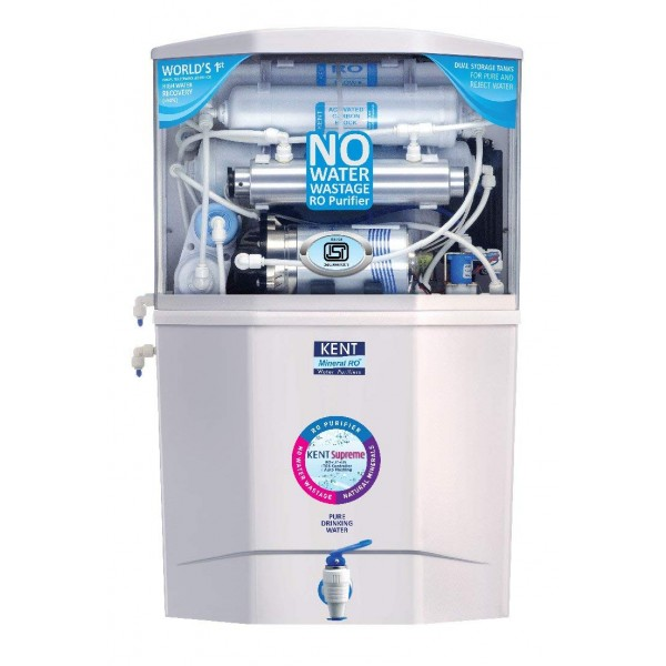 KENT Supreme RO + UV/UF + TDS Water Purifier,White
